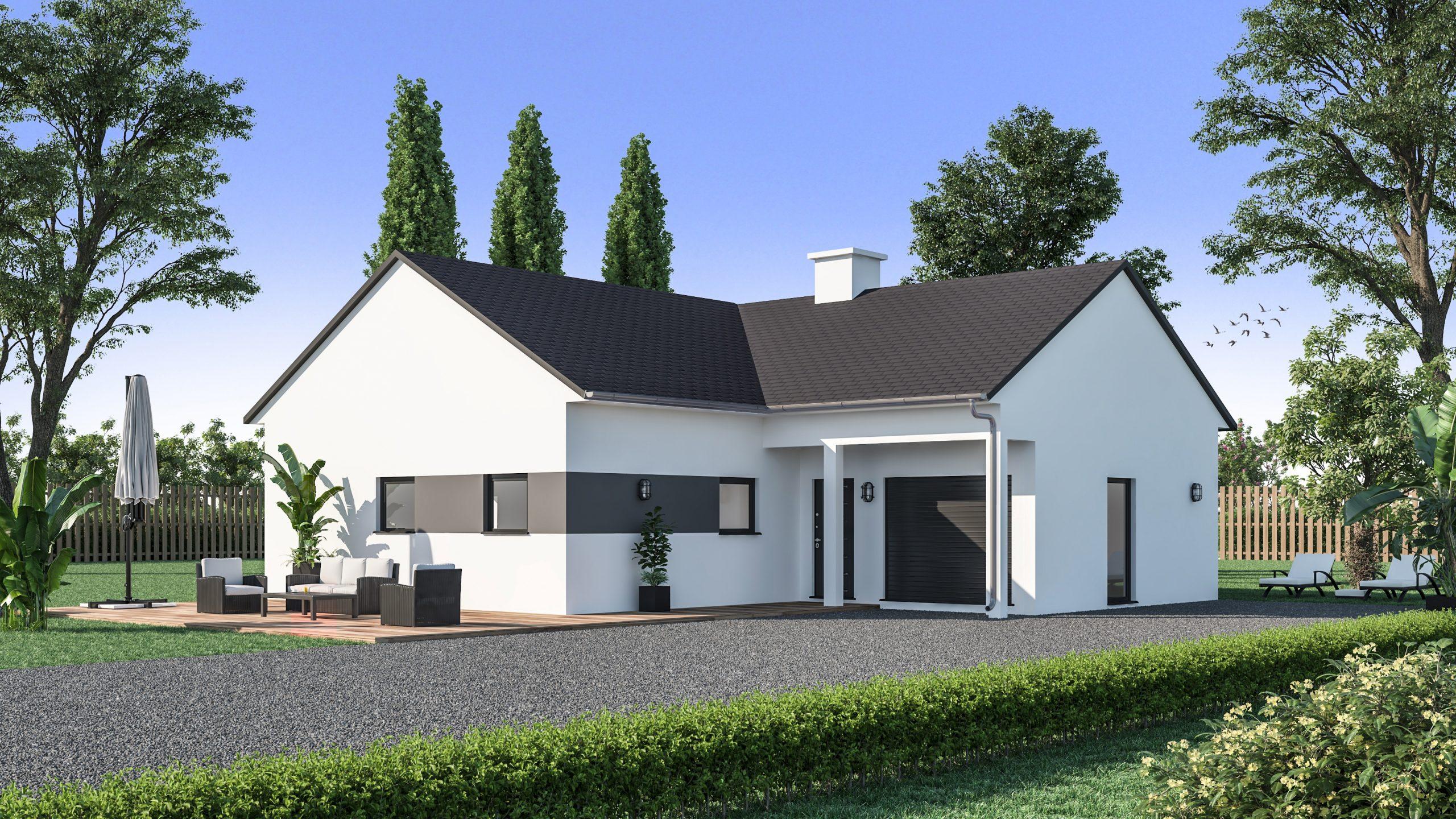 Maison Familiale De Plain Pied Maison De Style Traditionnel Maisons De L Avenir