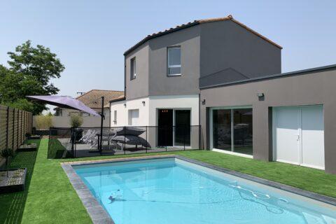 maison neuve piscine constructeur maison avenir